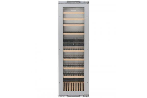 "Large image of Liebherr 24"" Custom Frame Built-In Dual Zone Wine Cabinet - HW-8000"