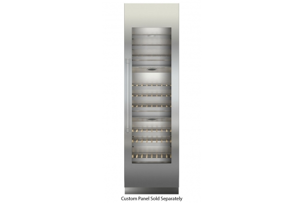 "Large image of Liebherr 24"" Monolith Custom Frame Right-Hinge Built-In Triple Zone Wine Cabinet - MW-2400"
