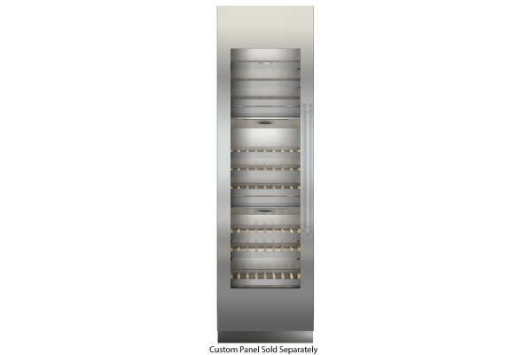 "Large image of Liebherr 24"" Monolith Custom Frame Left-Hinge Built-In Triple Zone Wine Cabinet - MW-2401"