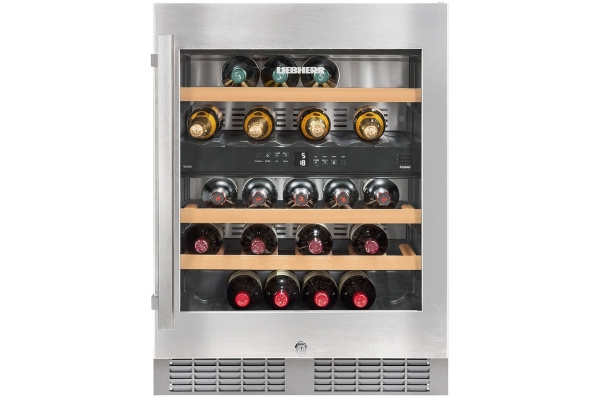 """Large image of Liebherr 24"""" Stainless Frame Undercounter Wine Chiller - WU-3400"""