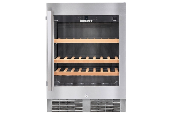"""Large image of Liebherr 24"""" Stainless Frame Undercounter Wine Chiller - WU-4500"""