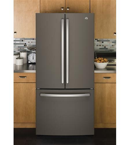 Ge Slate Counter Depth French Door Refrigerator Gwe19jmles