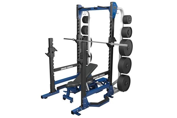 Large image of Life Fitness HD Elite Multi Rack - HDLMR