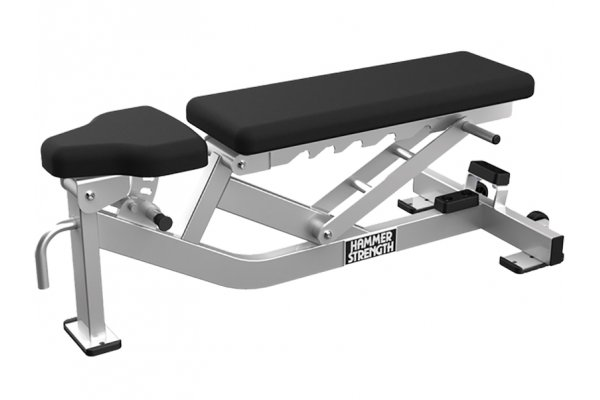 Large image of Life Fitness Athletic Series Multi-Adjustable Bench - HDT-MAB