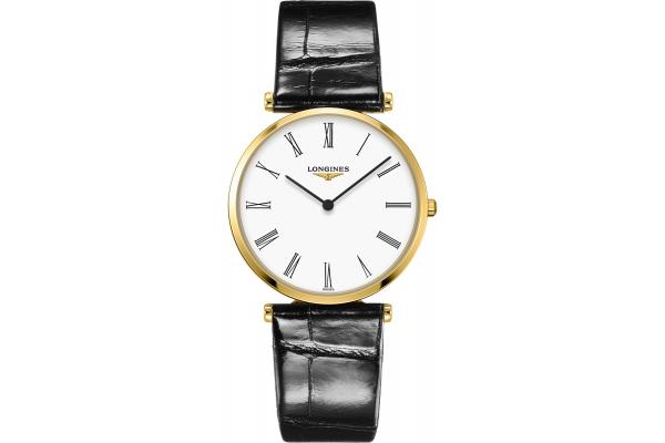 Large image of Longines La Grande Classique Gold Case And White Dial Mens Watch - L47552112
