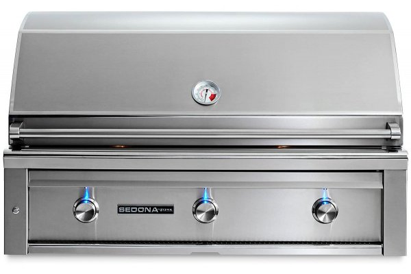 """Large image of Lynx Sedona 42"""" Stainless Steel Natural Gas Built-In Grill With ProSear - L700PSNG"""