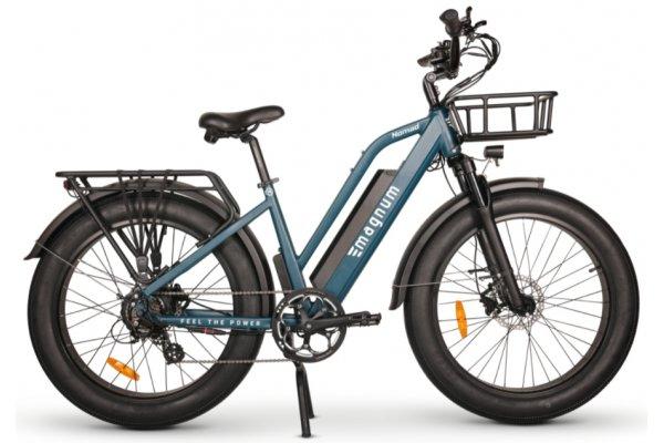 Large image of Magnum Blue Nomad 750W Electric Bike - NOMAD-OCN