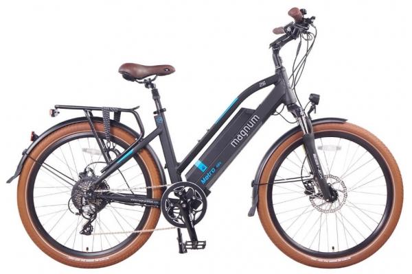 Large image of Magnum Black Metro 500W Electric Bike - METRO-LS-B