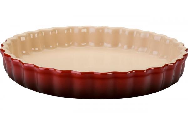 Large image of Le Creuset 1.5 Qt. Cerise Tart Dish - PG0600-2467