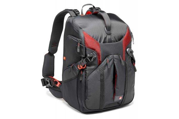 Large image of Manfrotto Pro Light Camera Backpack 3N1-36 For DSLR/C100/DJI Phantom - MB PL-3N1-36 & PRO2699