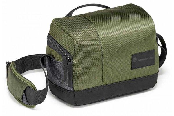 Large image of Manfrotto Street Green Shoulder Bag For CSC & DSLRs - MBMSSBGR & PRO7319