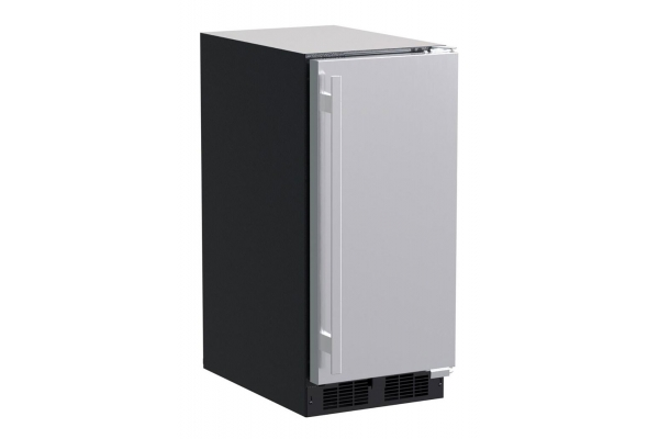"""Large image of Marvel 15"""" Stainless Steel Built-In Clear Ice Machine - MLCP215SS01A"""