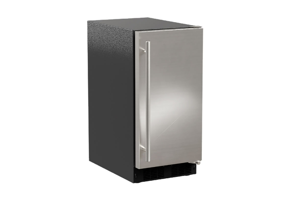 """Large image of Marvel 15"""" Stainless Steel Low Profile Built-In Clear Ice Machine - MACL215SS01A"""