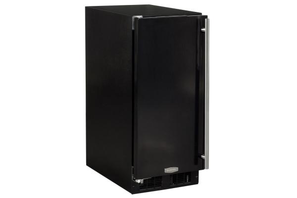 "Large image of Marvel 15"" Black Compact All Refrigerator - ML15RAS1LB"