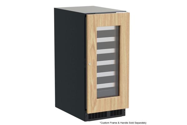"Large image of Marvel Professional 15"" Custom Panel Frame Built-In Single Zone Wine Refrigerator - MPWC415IG31A"