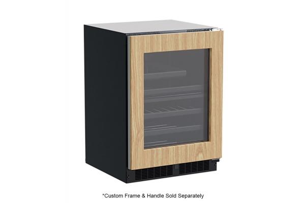 """Large image of Marvel 24"""" Custom Frame Built-In Dual Zone Wine & Beverage Center - MLBD224IG01A"""