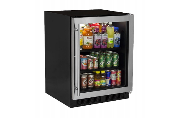 """Large image of Marvel 24"""" Stainless Frame Built-In Refrigerator - MARE124SG31A"""