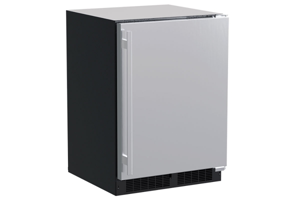 """Large image of Marvel 24"""" Stainless Steel Built-In Refrigerator - MLRE024SS01A"""