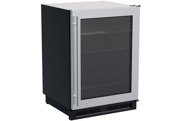 "Large image of Marvel Classic 24"" Stainless Frame Built-In High-Capacity Beverage Center - MLBV024SG01B"