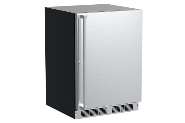 """Large image of Marvel Professional 24"""" Stainless Steel Built-In Refrigerator With 3-In-1 Convertible Shelf & Maxstore Bin - MPRE424SS31A"""