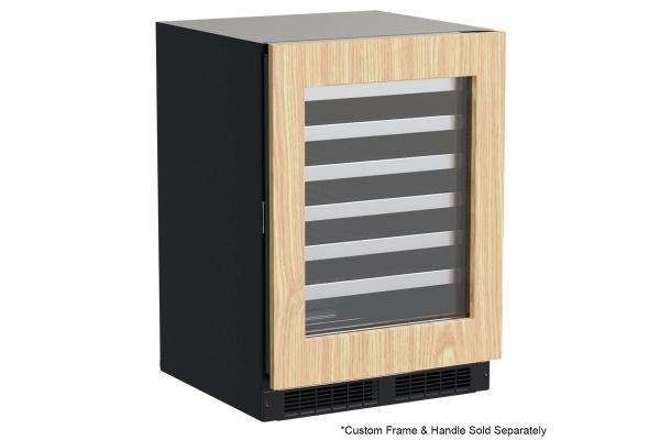 "Large image of Marvel Professional 24"" Custom Panel Frame Built-In Single Zone Wine Refrigerator - MPWC424IG31A"