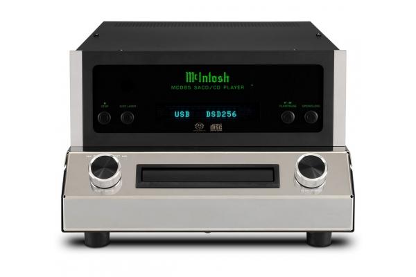 Large image of McIntosh 2-Channel Black SACD/CD Player - MCD85