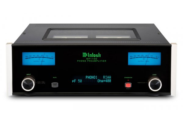 Large image of McIntosh Black 2-Channel Vacuum Tube Phono Preamplifier - MP1100