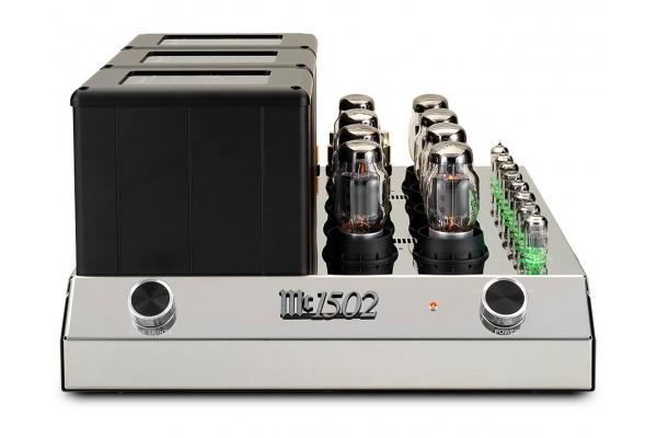 Large image of McIntosh Black 2-Channel Vacuum Tube Amplifier - MC1502