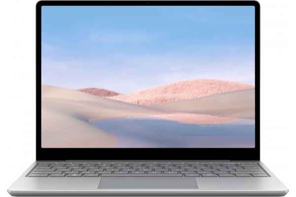 "Large image of Microsoft Surface Go Platinum 12.4"" Laptop Intel i5-1035G1 8GB RAM 256GB SSD, Intel UHD Graphics - THJ-00001"