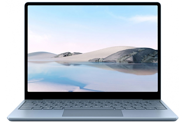 "Large image of Microsoft Surface Go Ice Blue 12.4"" Laptop Intel i5-1035G1 8GB RAM 256GB SSD, Intel UHD Graphics - THJ-00024"