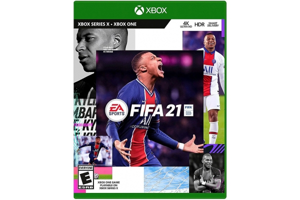 Large image of Microsoft Xbox One FIFA 21 Video Game - 014633379891
