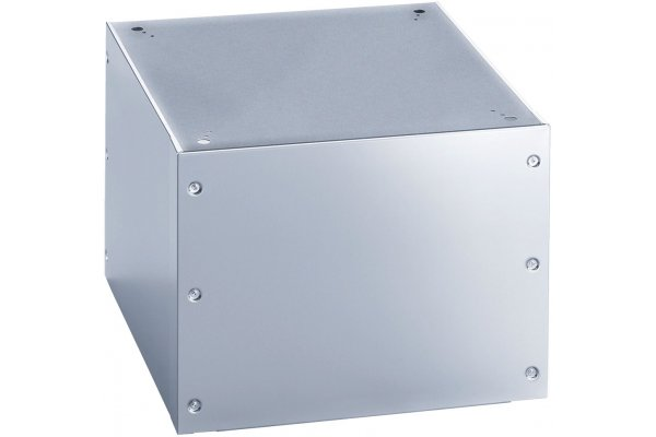 """Large image of Miele 18-1/2"""" Stainless Steel Laundry Box Toe-Kick - APCL011SS"""