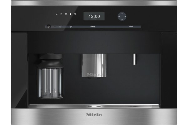 """Large image of Miele 24"""" Stainless Steel Built-In Coffee System - 09676900"""