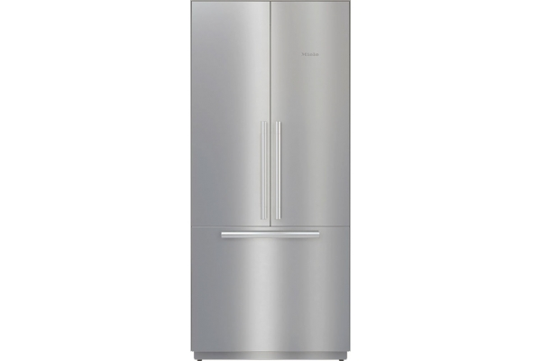"Large image of Miele MasterCool 36"" Stainless Steel Built-In French Door Refrigerator - 11503040"