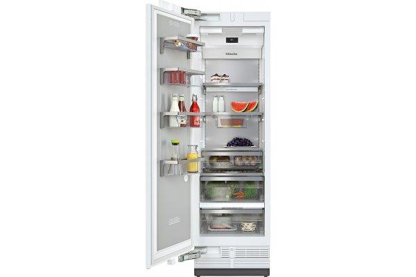 "Large image of Miele MasterCool 24"" Panel Ready Left-Hinge Built-In Refrigerator - K2612VI"