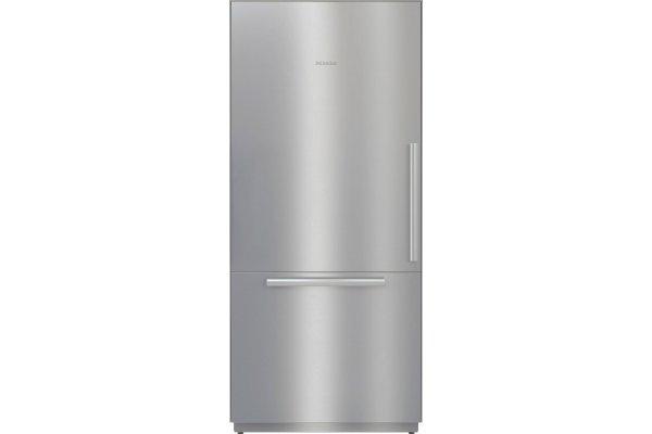 "Large image of Miele MasterCool 36"" Stainless Steel Fridge-Freezer - 11502970"