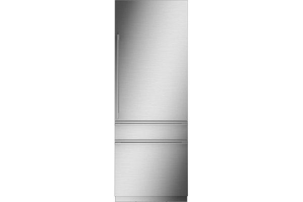 "Large image of Monogram 30"" Custom Panel Integrated Customizable Refrigerator For Single Or Dual Installation - ZIC303NPPII"