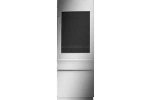 "Large image of Monogram 30"" Custom Panel Frame Integrated Customizable Refrigerator For Single Or Dual Installation - ZIK303NPPII"