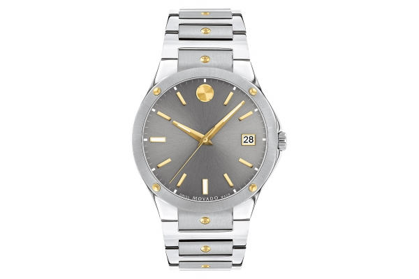 Large image of Movado SE 41mm Stainless Steel Mens Watch - 0607514