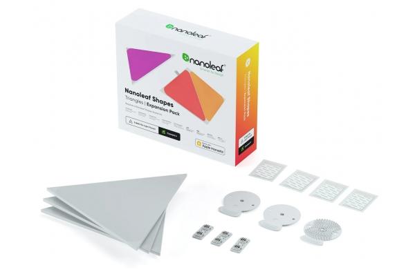 Large image of Nanoleaf Shapes 3 Triangle Expansion Pack - NL47-0001TW-3PK