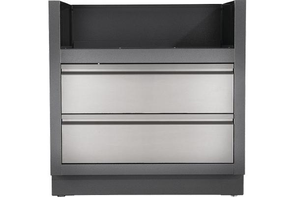 Large image of Napoleon Oasis Grey BIPRO500 & BIP500 Under Grill Cabinet - IM-UGC500-CN