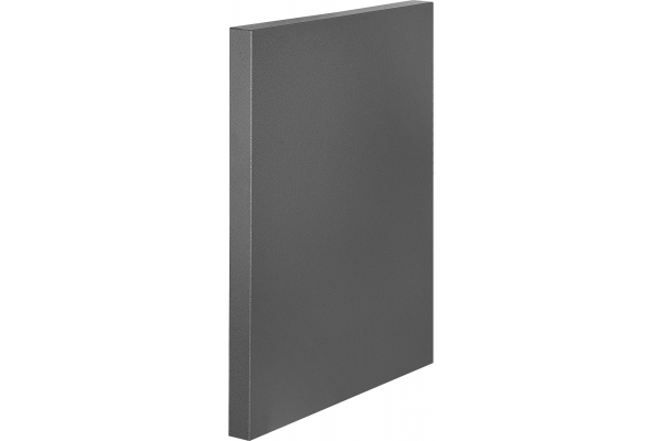 Large image of Napoleon OASIS Grey Cabinet End Panel - IM-CEP-CN