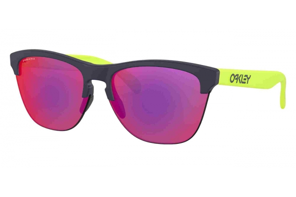 Large image of Oakley Frogskins Lite Origins Collection Prizm Road Womens Sunglasses - OO93743563