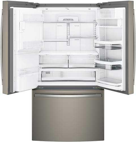 Ge Profile Slate French Door Refrigerator Pye22kmkes