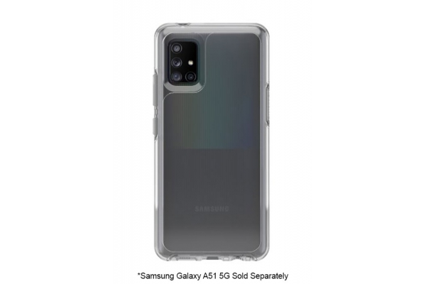 Large image of OtterBox Clear Symmetry Case For Samsung Galaxy A51 5G - 77-64967