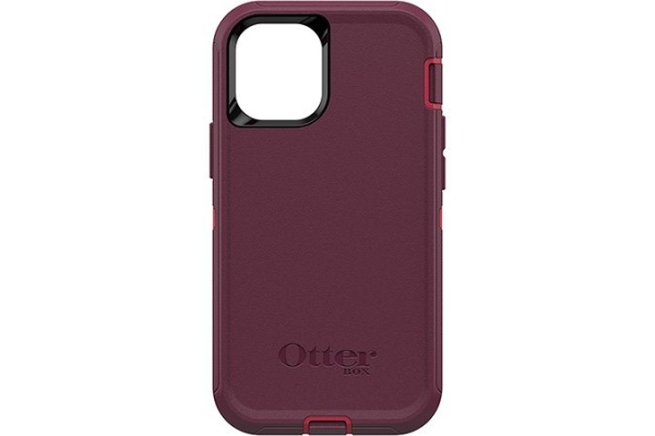 Large image of Otterbox Defender Series Berry Potion Pink Case For Apple iPhone 12 Mini - 77-65354