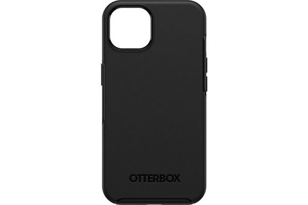 Large image of OtterBox Symmetry Series Black Case For Apple iPhone 13 - 77-85339