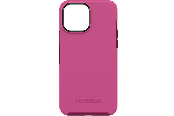 Large image of OtterBox Symmetry Series Renaissance Pink Case For Apple iPhone 13 Pro Max - 77-83484