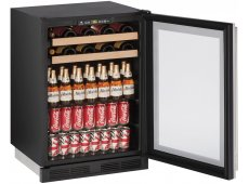 U-Line - U-1224BEVS-00B - Wine Refrigerators and Beverage Centers