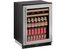 U-Line - U-1224BEVS-13B - Wine Refrigerators and Beverage Centers